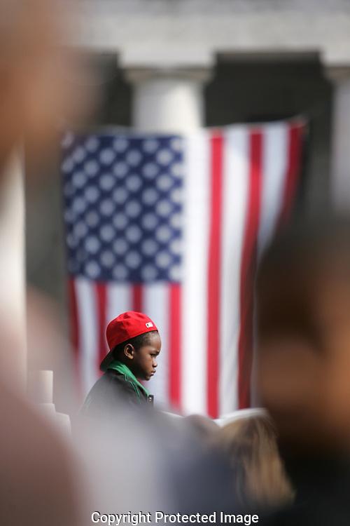 Obama rally Columbus, Ohio
