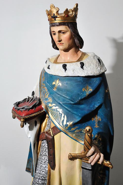 La statue de Saint Louis enfin restaurée.