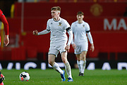 Leeds United Jack Jenkins (8)  during the FA Youth Cup match between U18 Manchester United and U18 Leeds United at Old Trafford, Manchester, England on 5 February 2020.