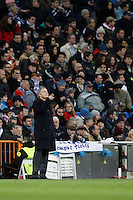 04.12.2012 SPAIN -  Champions League 12/13 Matchday 6th  match played between Real Madrid CF vs AFC Ajax (4-1) at Santiago Bernabeu stadium. The picture show  Jose Mourinho  coach of Real Madrid