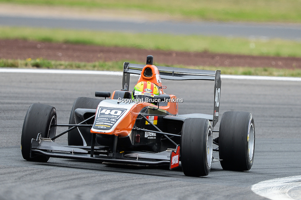 James Munro, NZ, takes 3rd place in Race 1, Round 4 of the Toyota Racing Series at Bruce Mclaren Motorsport Park, Taupo, New Zealand on Saturday Feb 6 2016