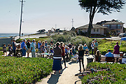 Rick Longinotti gives a talk on desal alternatives at Bethany Park, Santa Cruz. Located on the corner of West Cliff Drive and Woodrow Ave, Bethany Park is the oldest park in Santa Cruz and is one of the proposed sites for a Desal pumping station. More information can be found at DesalAlternatives.org