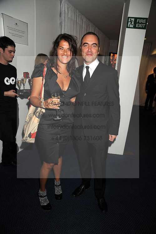 TRACEY EMIN and JAMES NESBITT at the GQ Men of the Year Awards held at the Royal Opera House, London on 2nd September 2008.<br /> <br /> NON EXCLUSIVE - WORLD RIGHTS