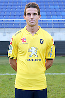 Edouard BUTIN - 04.10.2014 - Photo officielle Sochaux - Ligue 2 2014/2015<br /> Photo : Icon Sport