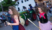 """A """"Night of the Witches"""" celebrates with bands, Tyrolean music, dancing, is celebrated at Kastelruth/Castelrotto, a comune in Südtirol/South Tyrol/Alto Adige, in the Dolomites, Italy, near Bolzano and Seiser Alm (Alpe di Siusi). After Austria lost World War I, its South Tirol (Südtirol) became Italy's Alto Adige. German is the most spoken language in Kastelruth. The Dolomites were declared a natural World Heritage Site (2009) by UNESCO."""