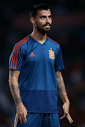 September 11, 2018 - Elche, Alicante, Spain - Suso of Spain looks on prior to the UEFA Nations League A group four match between Spain and Croatia at Manuel Martinez Valero on September 11, 2018 in Elche, Spain  (Credit Image: © David Aliaga/NurPhoto/ZUMA Press)