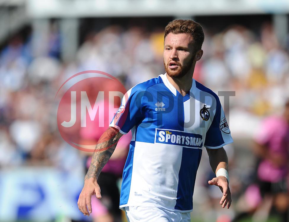 Matt Taylor of Bristol Rovers  - Mandatory byline: Joe Meredith/JMP - 07966386802 - 08/08/2015 - FOOTBALL - Memorial Stadium -Bristol,England - Bristol Rovers v Northampton Town - Sky Bet League Two