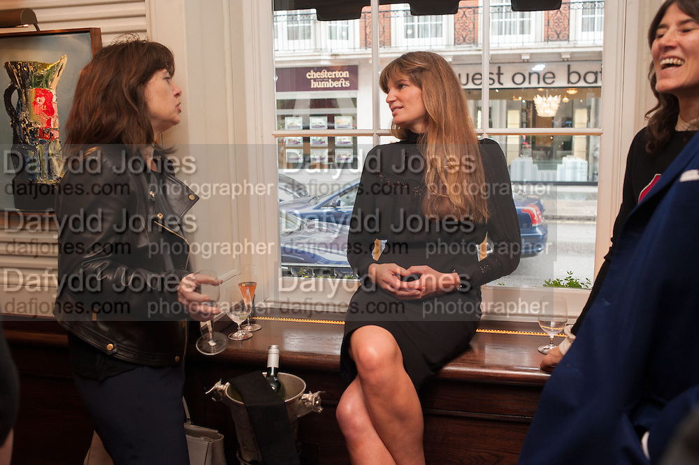 JEMIMA KHAN, Vanity Fair Lunch hosted by Graydon Carter. 34 Grosvenor Sq. London. 14 May 2013
