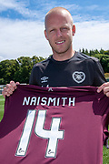 Steven Naismith signs for Heart of Midlothian on a season-long loan deal from Norwich City at Chapman Suite, Oriam Sports Performance, Scotland on 6 July 2018. Picture by Malcolm Mackenzie.