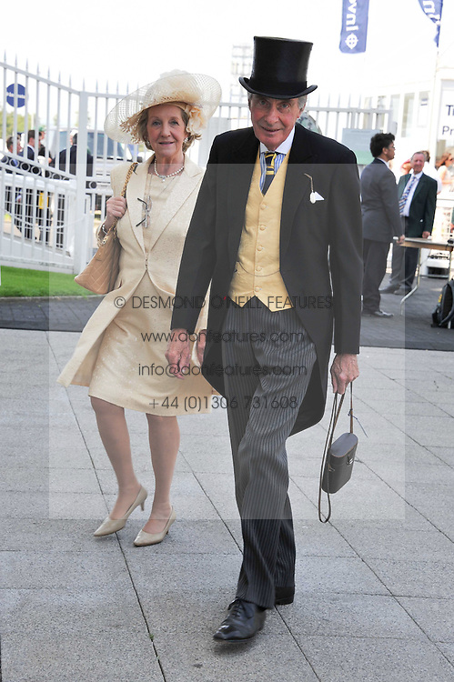 LORD & LADY FAIRHAVEN at the Investec Derby at Epsom Racecourse, Epsom Downs, Surrey on 4th June 2011.