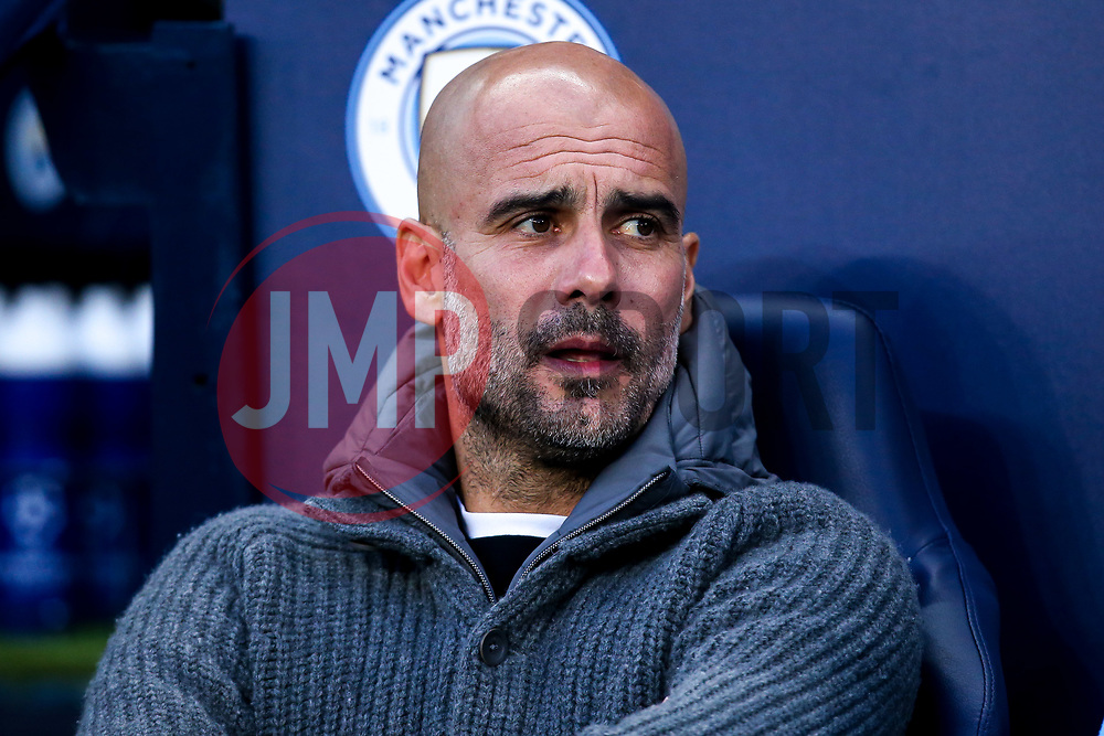 Manchester City manager Pep Guardiola - Mandatory by-line: Robbie Stephenson/JMP - 17/04/2019 - FOOTBALL - Etihad Stadium - Manchester, England - Manchester City v Tottenham Hotspur - UEFA Champions League Quarter Final 2nd Leg