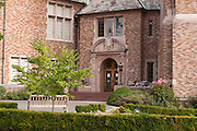 Hutchinson Hall on Stevens Way East hosts the School of Drama, University of Washington, Seattle, Washington, USA. The 1926 building (architects Bebb & Gould) was named for long-time faculty member Mary Gross Hutchinson, who was chair of the Department of Physical Education for Women for eleven years.