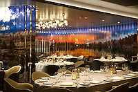 Royal Caribbean International launches Quantum of the Seas, the newest ship in the fleet, in November 2014.<br /> <br /> American ICON Grill<br /> <br /> photo credit: Andy Paradise<br /> 31-10-14<br /> copyright: sbw-photo