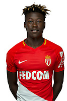 Kevin Ndoram during Photoshooting of Monaco for new season 2017/2018 on September 28, 2017 in Monaco, France. (Photo by Chateau/Asm/Icon Sport)