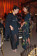 LILY ROBINSON; LADY ROSE CHOLMONDELEY, Evgeny Lebedev and Graydon Carter hosted the Raisa Gorbachev charity Foundation Gala, Stud House, Hampton Court, London. 22 September 2011. <br /> <br />  , -DO NOT ARCHIVE-© Copyright Photograph by Dafydd Jones. 248 Clapham Rd. London SW9 0PZ. Tel 0207 820 0771. www.dafjones.com.