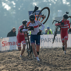 04-11-2018: Wielrennen: EK veldrijden: Rosmalen <br />Daniel Barnes