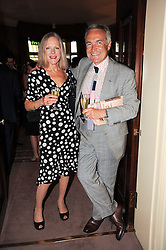 JACQUI GRAHAM and STEPHEN BAYLEY at a party to celebrate the publication of Imperial Bedrooms by Bret Easton Ellis held at Mark's Club, 46 Charles Street, London W1 on 15th July 2010.