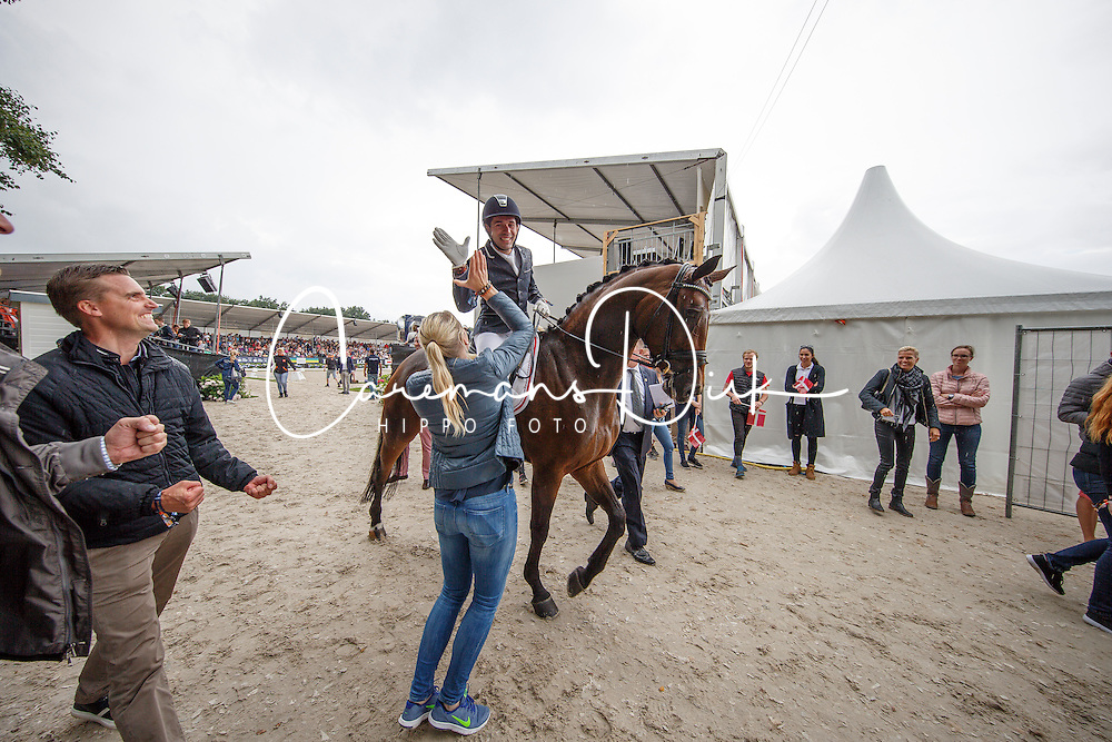 Jurado Lopez Severo Jesus, ESP, Fiontini<br /> Final 6 years of age<br /> World Championship Young Dressage Horses <br /> Ermelo 2016<br /> &copy; Hippo Foto - Dirk Caremans<br /> 31/07/16