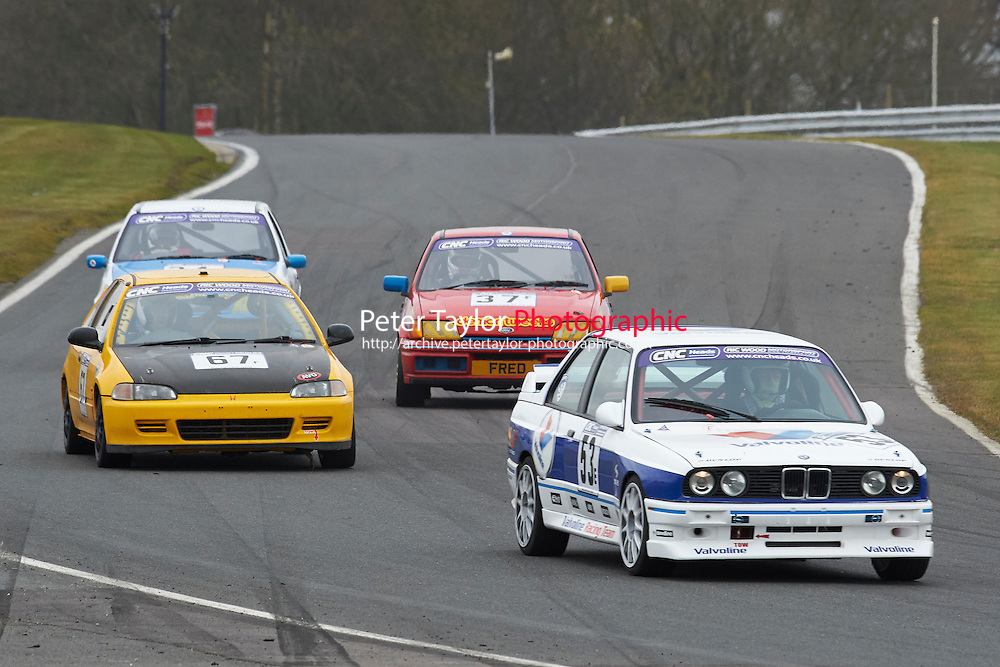 #53 Nicholas BARTLETT BMW M3 2302 during CNC Heads Sports / Saloon Championship as part of the BARC NW - Championship Raceday  at Oulton Park, Little Budworth, Cheshire, United Kingdom. March 19 2016. World Copyright Peter Taylor/PSP. Copy of publication required for printed pictures.  Every used picture is fee-liable. http://archive.petertaylor-photographic.co.uk