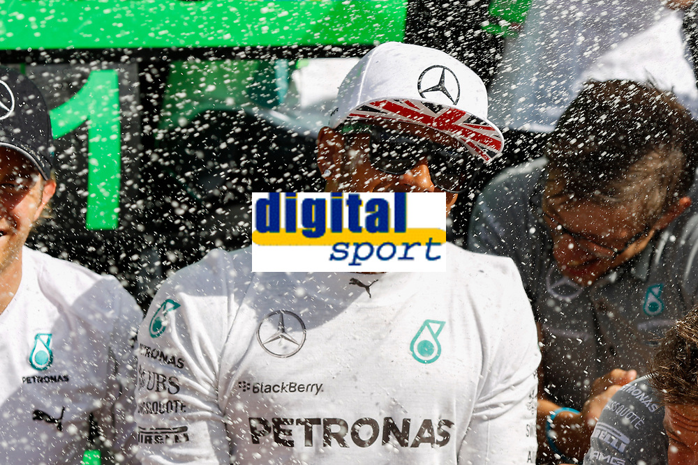HAMILTON Lewis (Gbr) Mercedes Gp Mgp W05 Portrait   during the 2014 Formula One World Championship, Grand Prix of Great Britain from july 3 to 6th 2014, in Silverstone, United Kingdom. Photo Florent Gooden / DPPI