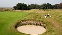 SANDWICH (GB) - Himalayas hole 1 . The Prince's Golf Club. COPYRIGHT KOEN SUYK