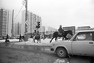 Mosca, marzo 2000: nuova Peredelkino