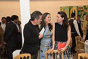 HAN TUMERTEKIN; FUSUN ECZACIBASI; VICTORIA SIDDALL Dinner to celebrate the 10th Anniversary of Contemporary Istanbul Hosted at the Residence of Freda & Izak Uziyel, London. 23 June 2015