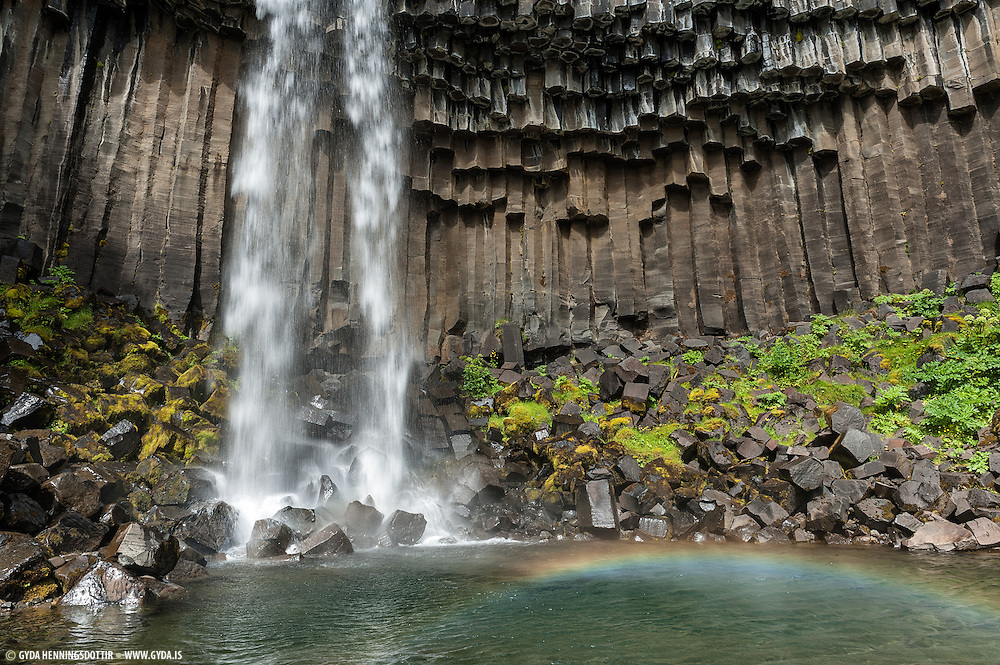 Svartifoss. Taken in South-east Iceland