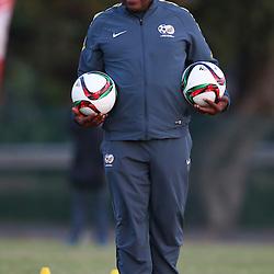 DURBAN, SOUTH AFRICA - Wednesday 10th June 2015 Action Shakes Mashaba during The Bafana Bafana training session at  Moses Mabhida Stadium on Wednesday 10th June 2015 in Durban, South Africa<br /> Photo by Steve Haag
