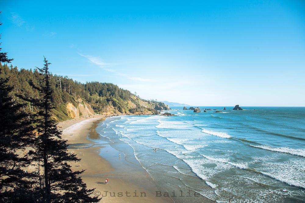 Ecola State Park, Cannon Beach, Oregon.
