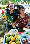 Farmers Market, Hanapepe, Kauai, Kauai, Hawaii.