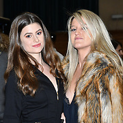Guest attends The British luxury Womenswear designer, Chanel Joan Elkayam, showcases her Autumn - Winter 2020 show ahead of London Fashion Week on 13 February 2020 at Cecil Sharp House, London, UK.