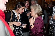 EMILY BEARN; MARIGOLD JOHNSON, Launch of Nicky Haslam's book Redeeming Features. Aqua Nueva. 5th floor. 240 Regent St. London W1.  5 November 2009.  *** Local Caption *** -DO NOT ARCHIVE-© Copyright Photograph by Dafydd Jones. 248 Clapham Rd. London SW9 0PZ. Tel 0207 820 0771. www.dafjones.com.<br /> EMILY BEARN; MARIGOLD JOHNSON, Launch of Nicky Haslam's book Redeeming Features. Aqua Nueva. 5th floor. 240 Regent St. London W1.  5 November 2009.