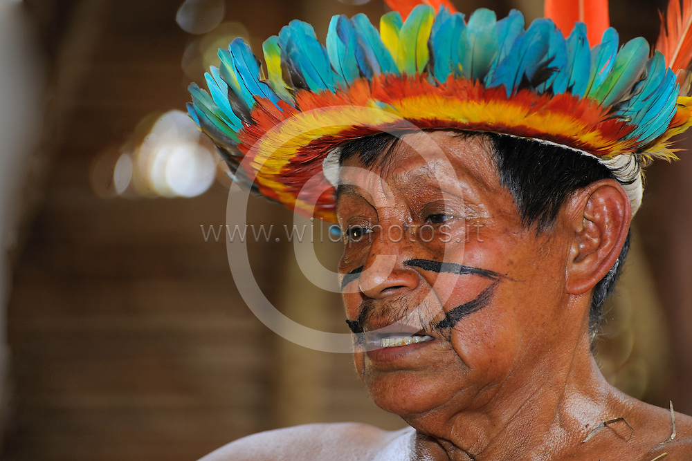 The Bora are an indigenous tribe of the Peruvian, Colombian and Brazilian Amazon, located between the Putumayo and Napo rivers. The Bora speak a Witotan language and comprise approximately 2,000 people. In the last forty years, they have become a largely settled people living mostly in permanent forest settlements.