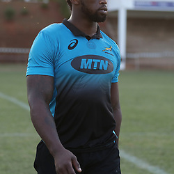 Siya Kolisi during the Field training at Northwood School, open for media and public Durban,South Africa. 13th June 2017(Photo by Steve Haag)