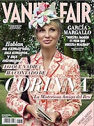 Corinna zu Sayn-Wittgenstein. Cover Vanity Fair Spain.
