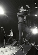 PHOTOGRAPH BY HOWARD BARLOW<br />MORRISSEY in concert at The DOME, DONCASTER<br />DONCASTER DOME  25 JULY 1991