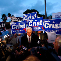 Florida Midterm Election Day | Charlie Crist and Alex Sink