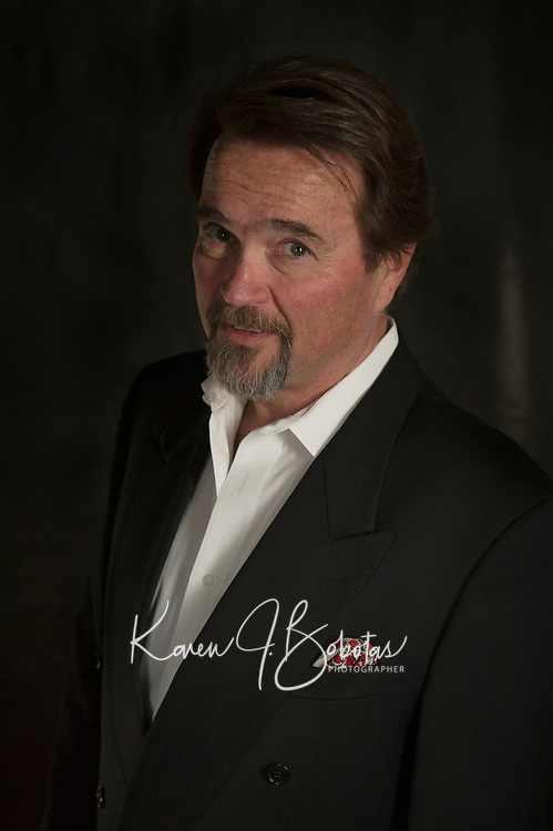 Jim Rogato head shot session.  ©2018 Karen Bobotas Photographer