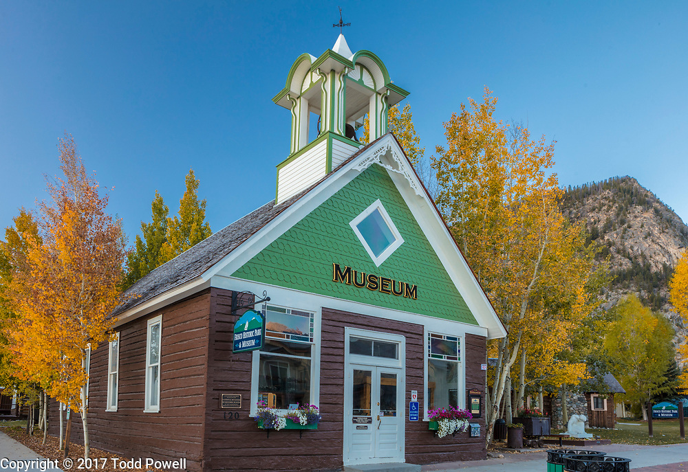 Frisco Historic  Park & Museum, Frisco, Colorado, Fall