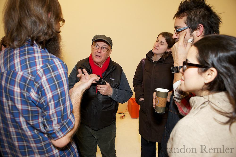bruce davidson at levi's workshop with aperture