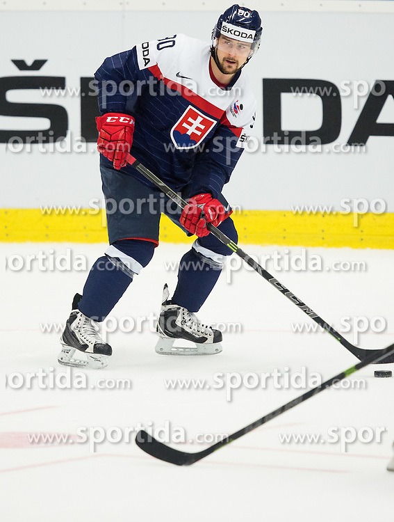 Tomas Tatar of Slovakia during Ice Hockey match between Slovakia and Norway at Day 6 in Group B of 2015 IIHF World Championship, on May 6, 2015 in CEZ Arena, Ostrava, Czech Republic. Photo by Vid Ponikvar / Sportida