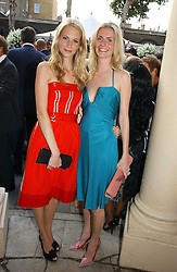 Left to right, sisters POPPY DELEVINGNE and CHLOE DELEVINGNE at the Tatler Summer Party 2006 in association with Fendi held at Home House, Portman Square, London W1 on 29th June 2006.<br />