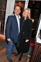 ROB VAN HELDEN and EMMA FARAH at the Linley Christmas Party held at Linley, 60 Pimlico Road, London on 16th November 2011.