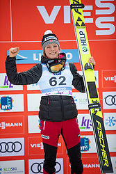LUNDBY Maren (NOR) celebrate after FIS Ski Jumping World Cup Ladies Ljubno 2020, on February 23th, 2020 in Ljubno ob Savinji, Ljubno ob Savinji, Slovenia. Photo by Matic Ritonja / Sportida