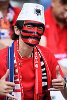 Tifoso Albania Supporters <br /> Marseille 15-06-2016 Stade du Velodrome <br /> Football Euro2016 France - Albania / Francia - Albania Group Stage Group A<br /> Foto Massimo Insabato / Insidefoto