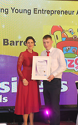 Marcio Barrett Winner of Aspiring Young Entrepreneur Award at the Mayo Business Awards held in the Broadhaven Hotel Belmullet.<br /> Pic Conor McKeown