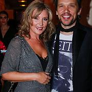 NLD/Amsterdam/20121112 - Beau Monde Awards 2012, Saskia Noort en partner Frank van den Berg