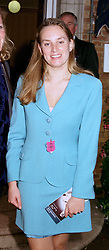 MRS HUGO MORRIS, she was Arabella Oppenheimer, at a race meeting in Berkshire on 26th July 1997.MAP 58 WORO