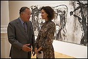 JOHN RITBLAT; MOLLIE DENT-BROCKLEHURST, Mario Merz, Pace Gallery.  at 6 Burlington Gardens, 25 September 2014.